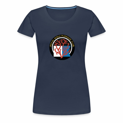Royal Wolu Plongée Club - T-shirt Premium Femme