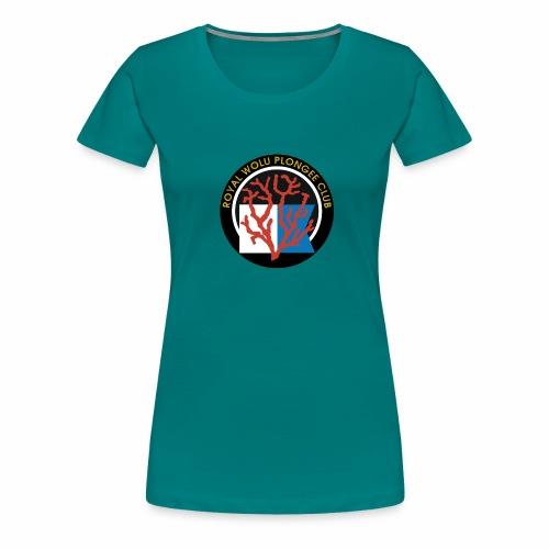 Royal Wolu Plongée Club - T-shirt Premium Femme