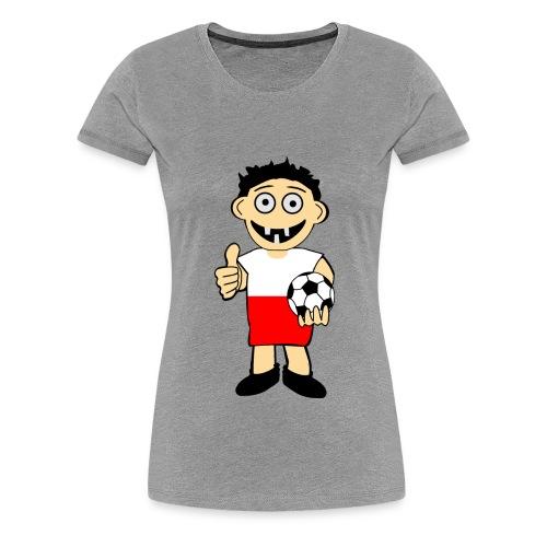 Polnischer Junge - Frauen Premium T-Shirt