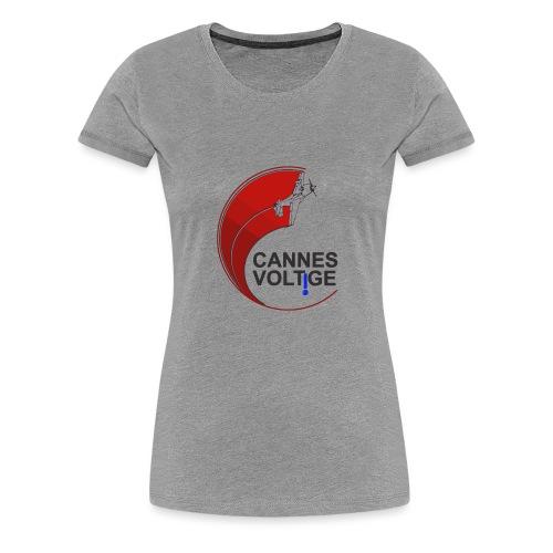 vect last logo cannes - T-shirt Premium Femme