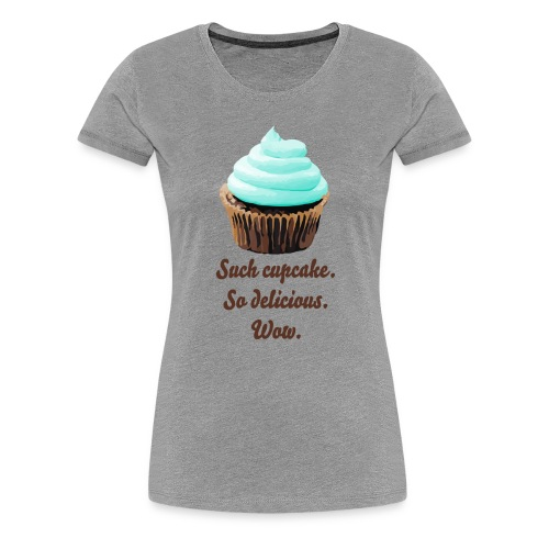 SuchCupcake mint - Premium-T-shirt dam