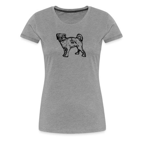 Pug Dog - Women's Premium T-Shirt