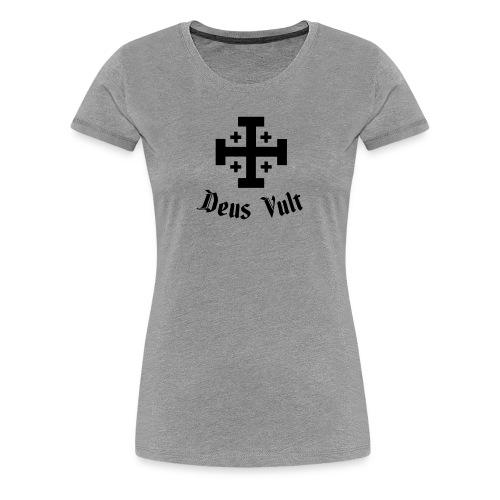 Deus Vult - Vrouwen Premium T-shirt