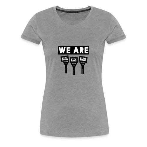 We are Noise Vandals - Women's Premium T-Shirt