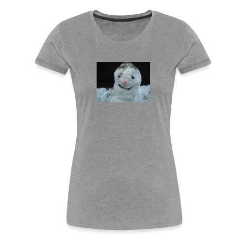 Snow Man - Women's Premium T-Shirt