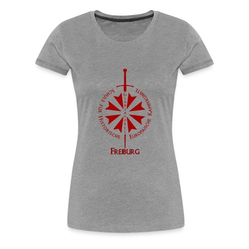 T shirt front Fr - Frauen Premium T-Shirt