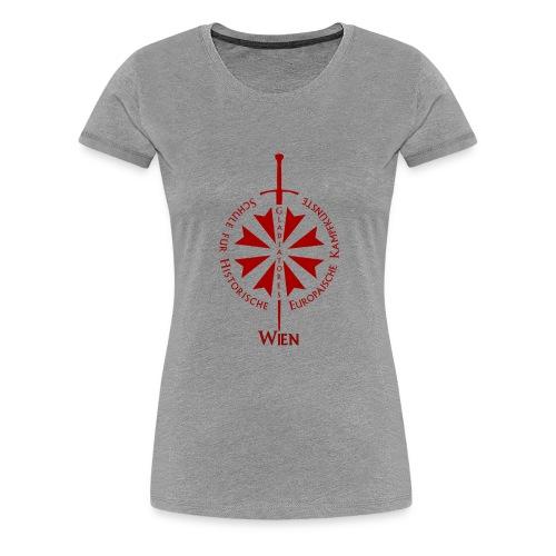 T shirt front wien - Frauen Premium T-Shirt