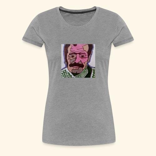 Brassens Pop Art - T-shirt Premium Femme