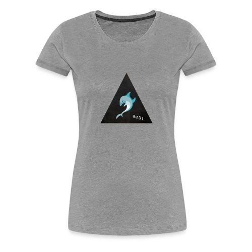 Delfin 8051 - Frauen Premium T-Shirt