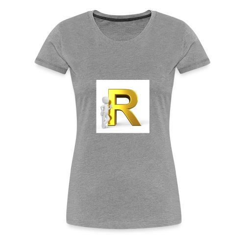 Rojali - Premium-T-shirt dam