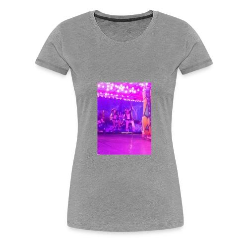Fête foraine manège magie plein de couleurs rose . - T-shirt Premium Femme