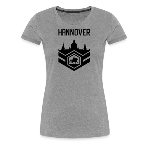 Mission Day Hannover randlos - Frauen Premium T-Shirt
