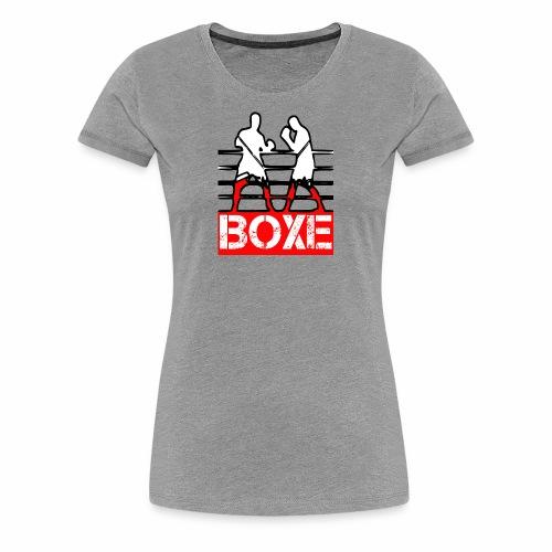 BOXE - Maglietta Premium da donna