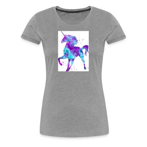 Kids shirt unicorn cooper - Women's Premium T-Shirt