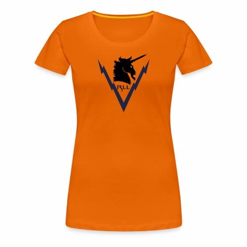 Brand RLL Color - Maglietta Premium da donna