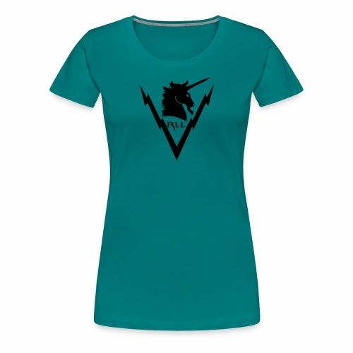 Brand RLL Black - Maglietta Premium da donna