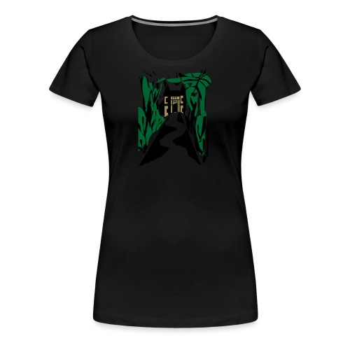 HALLOWEEN SPOOKY HAUNTED MANSION 2017 - Frauen Premium T-Shirt