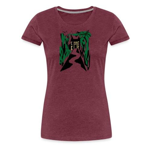 HALLOWEEN SPOOKY HAUNTED MANSION 2017 - Frauen Premium T-Shirt