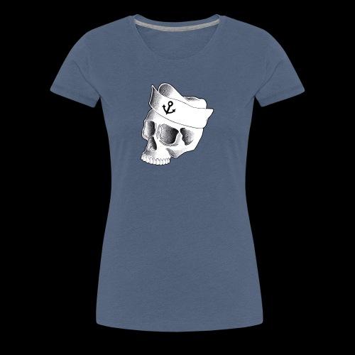 Teschio Marinaio - Maglietta Premium da donna