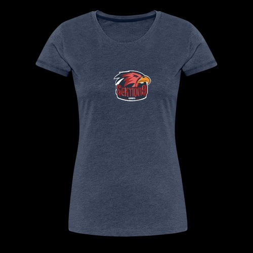 Sektion9 logo Rot - Frauen Premium T-Shirt