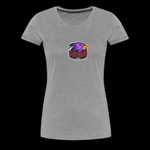 Sektion9 logo lila - Frauen Premium T-Shirt