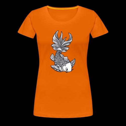 Pesce Tattoo Flash - Maglietta Premium da donna