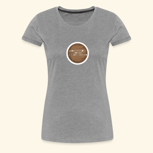 coffee - Premium-T-shirt dam