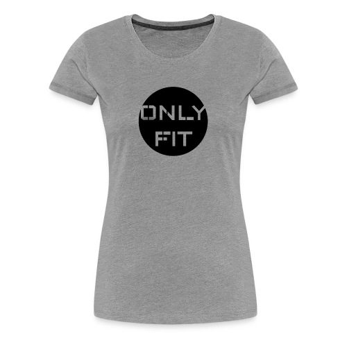 Only Fit Kreis Logo - Frauen Premium T-Shirt