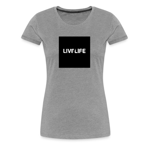 LIFE BY JONAH - Vrouwen Premium T-shirt