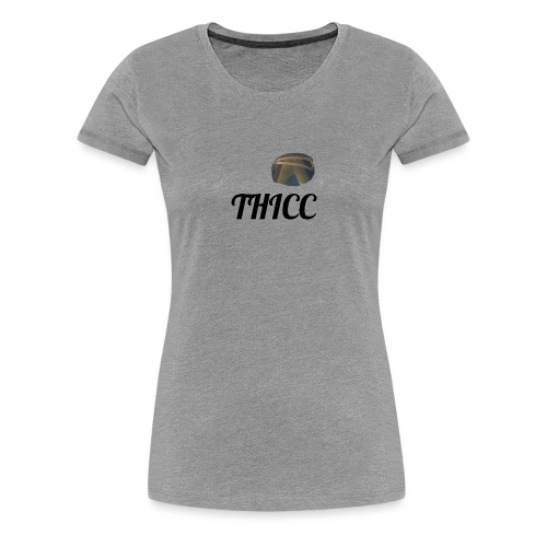 THICC Merch - Women's Premium T-Shirt