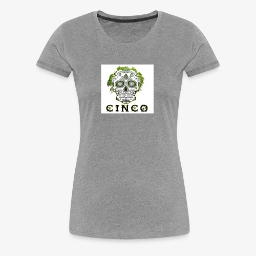 green eyes trees - T-shirt Premium Femme