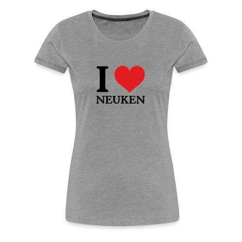 iloveneuken - Vrouwen Premium T-shirt