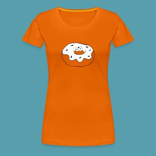 Donitsi - Naisten premium t-paita