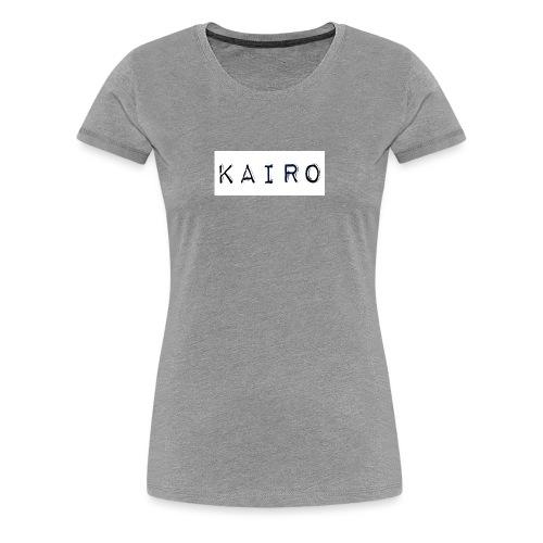 KAIRO (official) LOGO - Koszulka damska Premium