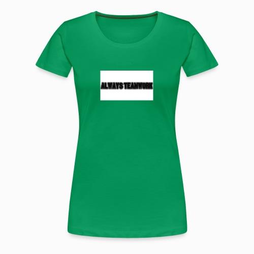 at team - Vrouwen Premium T-shirt