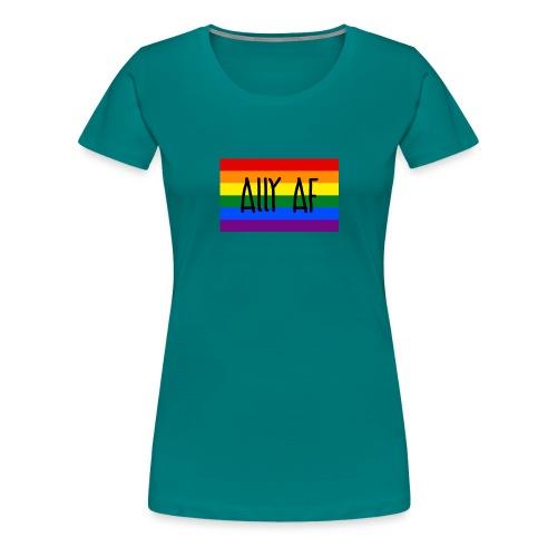 ally af - Frauen Premium T-Shirt