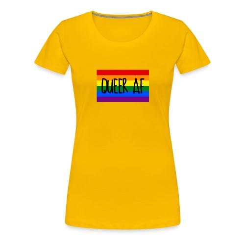 queer af - Frauen Premium T-Shirt