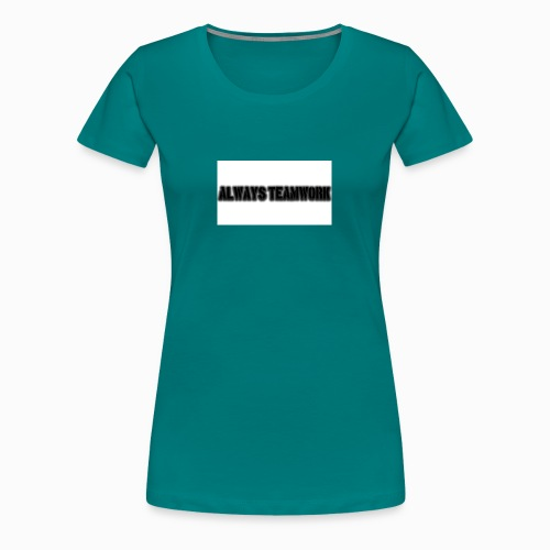 at team - Vrouwen Premium T-shirt