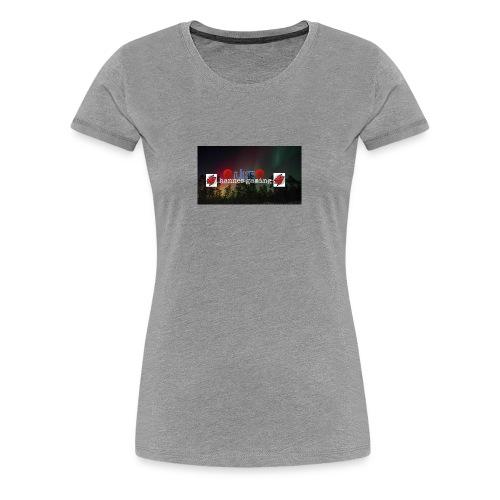 hannes gaming shirt - Vrouwen Premium T-shirt