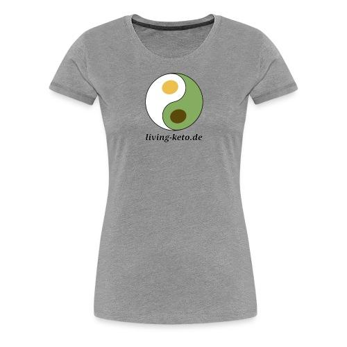 Keto Yin Yang - Frauen Premium T-Shirt