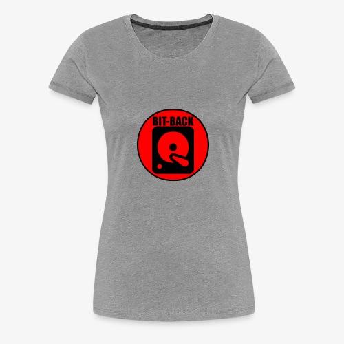 BIT BACK - Women's Premium T-Shirt