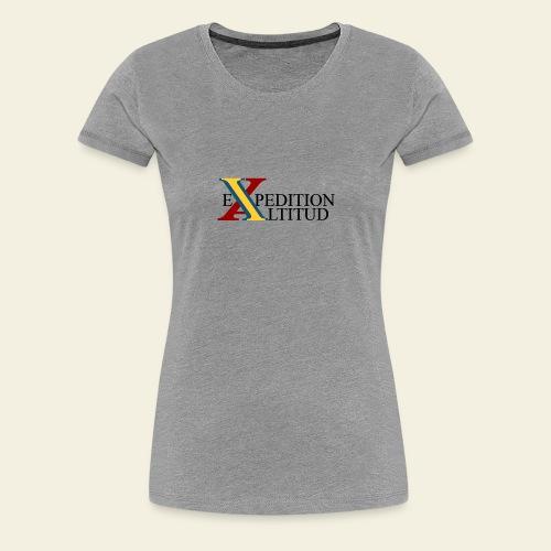 Expedition Altitud - Premium-T-shirt dam