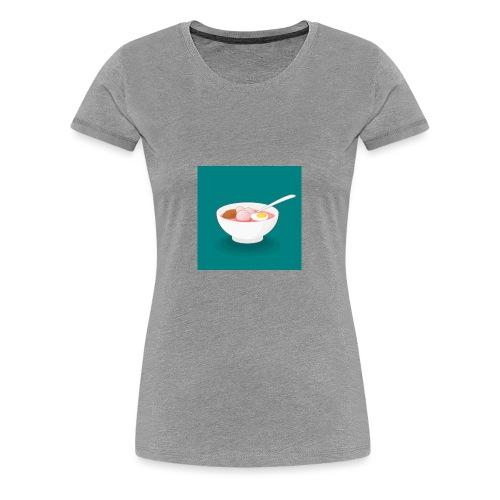 Bowl de fideos - Camiseta premium mujer