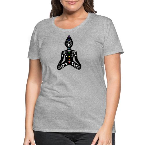 Meditation - Women's Premium T-Shirt