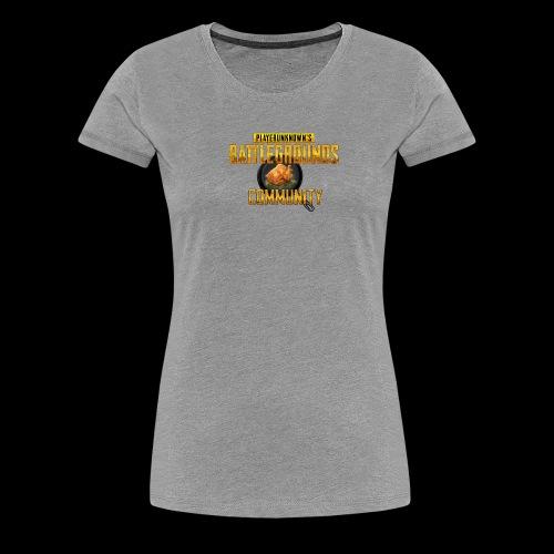 PUBG Community - Women's Premium T-Shirt