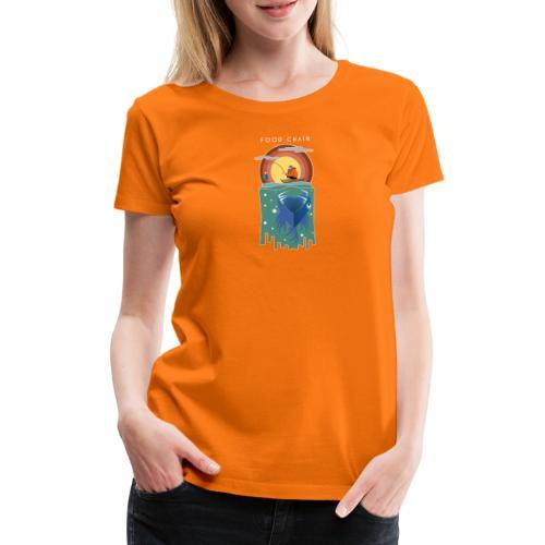 Food chain - T-shirt Premium Femme