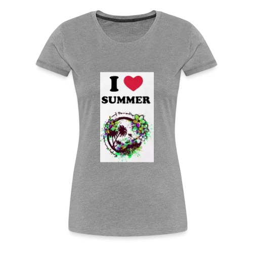 I love summer - Maglietta Premium da donna