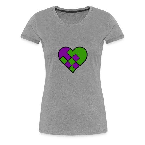 reecewHeart - Women's Premium T-Shirt