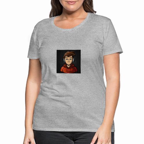 Youtube logo - Premium T-skjorte for kvinner
