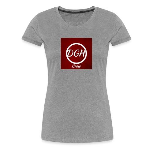 DGH rood - Vrouwen Premium T-shirt